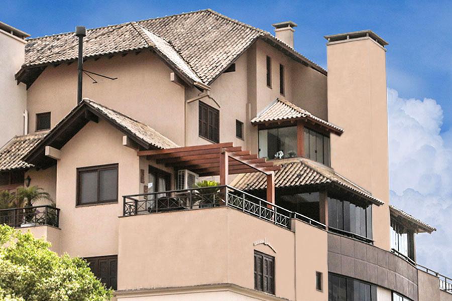 Movimentos de telhado marcando estilo em cobertura