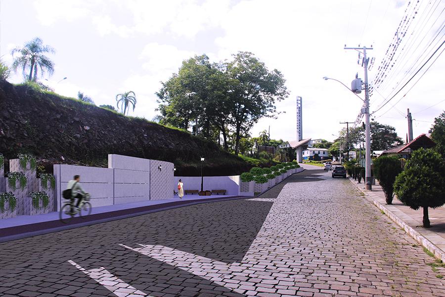 Projeto entrada da cidade